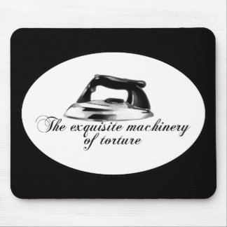 Retro Iron - The Exquisite Machinery Of Torture Mouse Pad