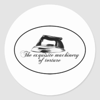 Retro Iron - The Exquisite Machinery Of Torture Sticker