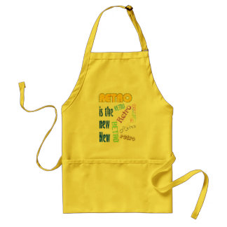 Retro is the new New Adult Apron