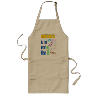Retro is the new New Long Apron