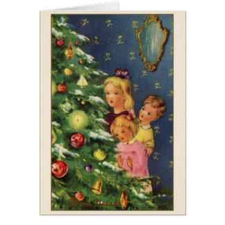 Retro Italian Christmas Greeting Card