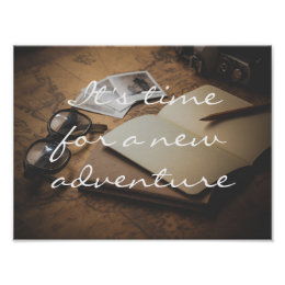 Retro // It's time for a new adventure Poster