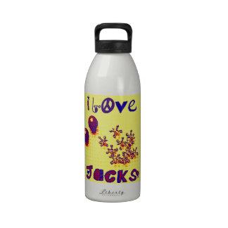 Retro Jacks from 60s 70s Drinking Bottles