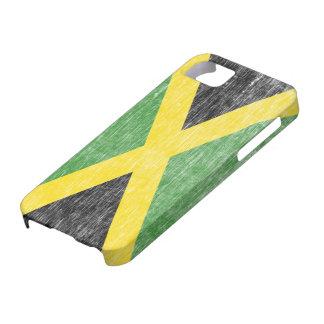 Retro Jamaican Flag iPhone 5 Case