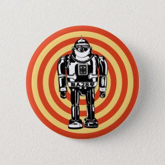 Retro Japanese Robot Button