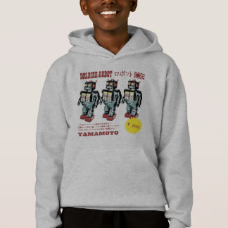 Retro Japanese Toy Robot Advertisement Hoodie