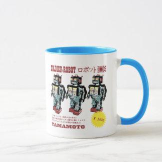 Retro Japanese Toy Robot Advertisement Mug