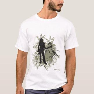Retro Jazz-Rock Girl T-Shirt