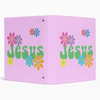 Retro Jesus Binders