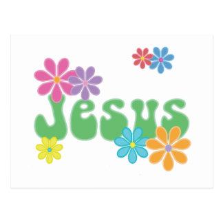Retro Jesus Postcard