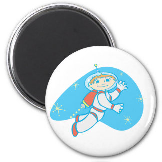 Retro Jet Boy Fridge Magnets