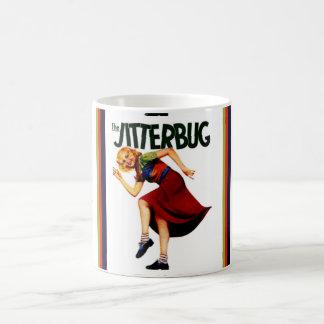 retro jitterbug dance print mug