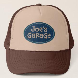 Retro Joe's Garage Logo Trucker Hat
