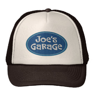 Retro Joe's Garage Logo Trucker Hat