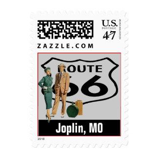 Retro Joplin Missouri MO Fun Route 66 Vintage Postage