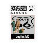 Retro Joplin Missouri MO Fun Route 66 Vintage Stamps