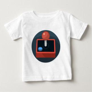 Retro Joystick, 80's style video game joy stick Baby T-Shirt