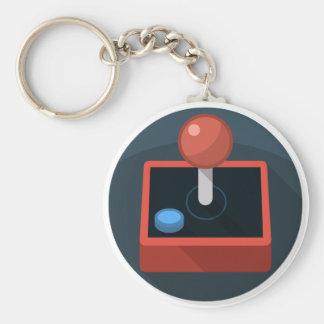 Retro Joystick, 80's style video game joy stick Keychain