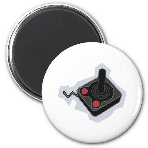 Retro joystick video games gamer gaming pc magnet