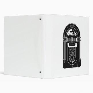 Retro Jukebox 3 Ring Binders