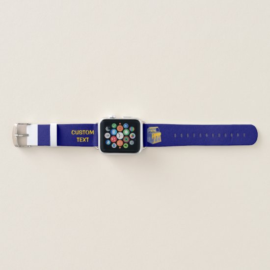 Retro Jukebox Apple Watch Band