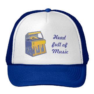 Retro Jukebox Trucker Hat