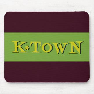 Retro K*Town Avocado Gold Mouse Pad