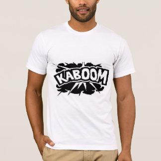 Retro KABOOM! Blast - Black & White T-Shirt