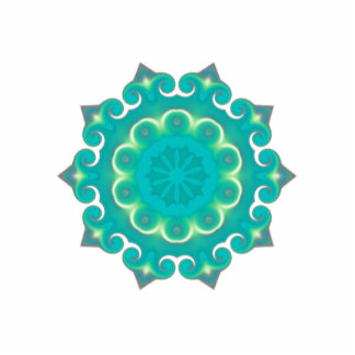 Retro Kaleidoscope Abstract Acrylic Cut Outs