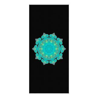 Retro Kaleidoscope Abstract Rack Card