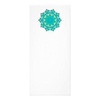 Retro Kaleidoscope Abstract Personalized Rack Card