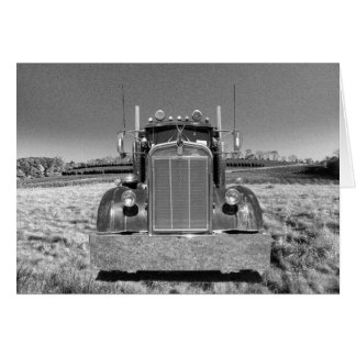 Retro Kenworth Note Card