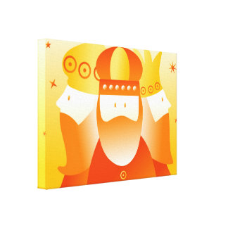 Retro Kings Stretched Canvas Prints