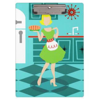 Retro Kitchen Clip Board