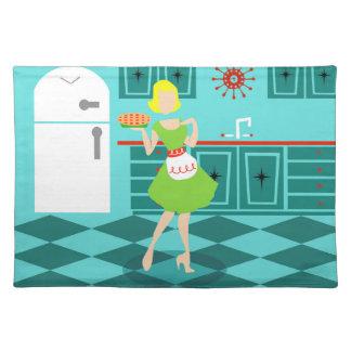 Retro Kitchen Cloth Placemat