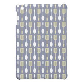 Retro Kitchen Cooking Utensils Pattern Cover For The iPad Mini