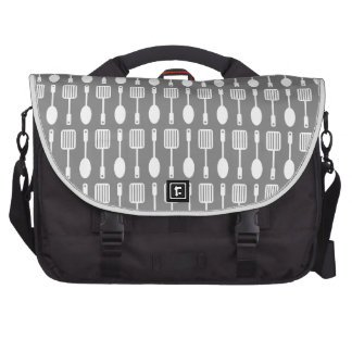 Retro Kitchen Cooking Utensils Pattern Bags For Laptop