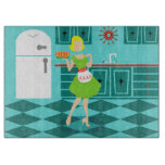 Retro Kitchen Cutting Board