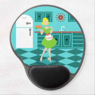 Retro Kitchen Gel Mousepad