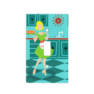 Retro Kitchen Light Switch Cover