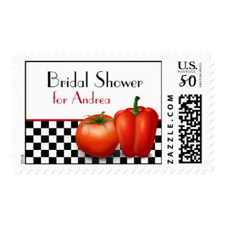 Retro Kitchen or Cooking Customizable Postage