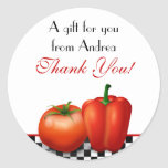 Retro Kitchen or Cooking Customizable Stickers