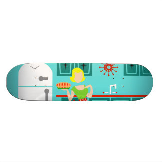 Retro Kitchen Skateboard