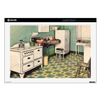 "Retro Kitchen Skins For 17"" Laptops"