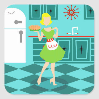 Retro Kitchen Stickers