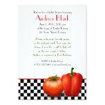 Retro Kitchen Theme Bridal Shower Invitation