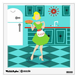 Retro Kitchen Wall Decal
