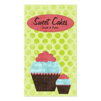 Retro Kitsch Cupcake #1 Business Cards