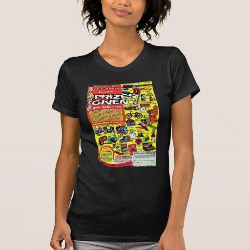 Retro Kitsch Vintage Comic Book Ad Prizes Given! Tshirt
