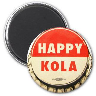 Retro Kitsch Vintage Soda Pop Happy Kola Cap Magnet